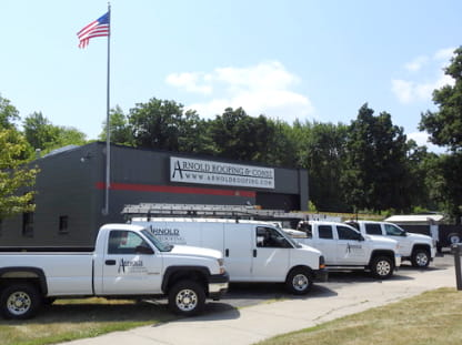Learn more about Arnold Roofing & Construction in Pontiac MI - about page location image